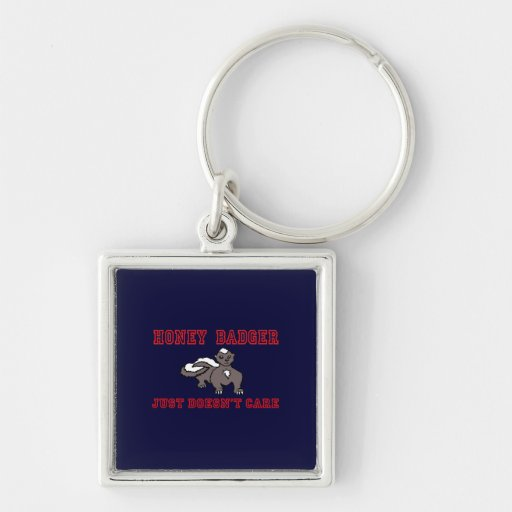 Kid's Honey Badger Just Doesn't Care Keychain