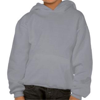 Kids Hooded Sweatshirt w/ American flag / What do