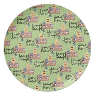 Kids Humpty Dumpty Decorative Plate