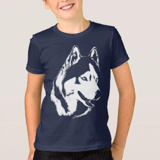 Kid's Husky T-Shirt Sled Dog Kid's Husky Shirts