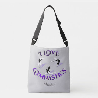 Kids I Love Gymnastics Crossbody Bag