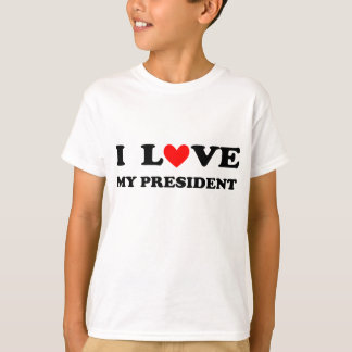 "Kid's ""I love my President"" T-shirt"
