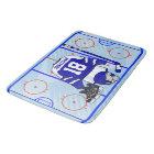 Kids Ice Hockey Bedroom Collection 1 Bath Mat