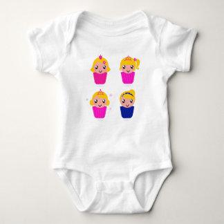 Kids in muffins baby bodysuit