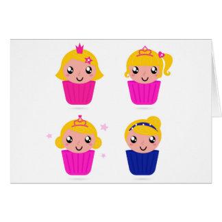 Kids in muffins card