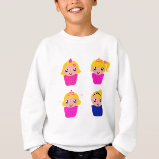 Kids in muffins sweatshirt