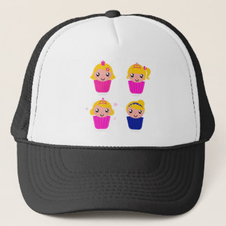Kids in muffins trucker hat