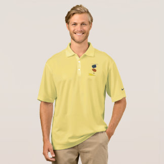 Kids in space polo shirt