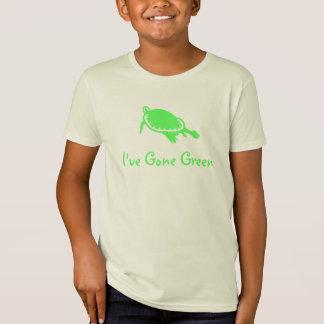 Kids  I've Gone Green T Shirts