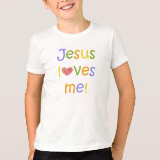 Kids Jesus Loves Me Shirt