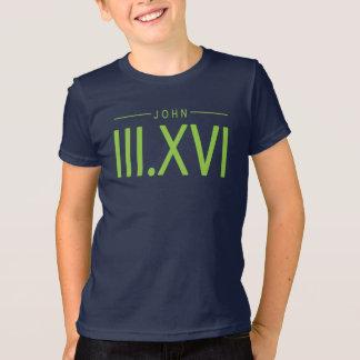 Kids John 3:16 shirt