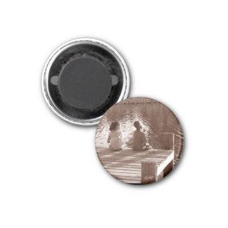 kids lake, DMT 3 Cm Round Magnet