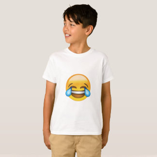 Kids Laughing Out Loud Emoji T-shirt