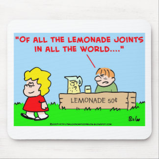 kids, lemonade, casablanca mouse pad