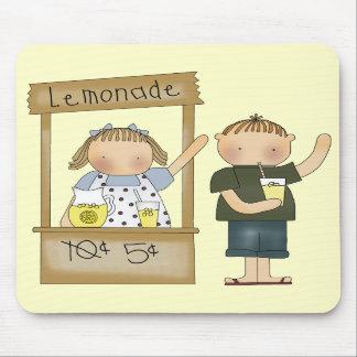 Kids Lemonade Stand T Shirts and Kids Gifts Mouse Mats
