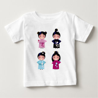 Kids little cute geishas baby T-Shirt