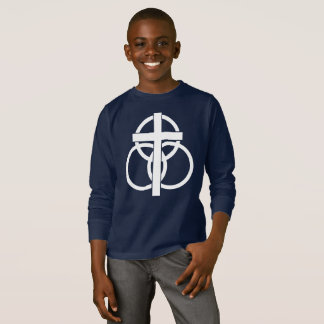 Kid's Long-sleeve T-shirt: Modern Logo T-Shirt