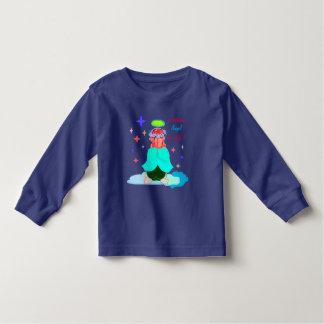 Kid's Long-sleeved Shirt: Guardian Angel Toddler T-Shirt