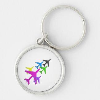 KIDS LOVE Aeroplane avion vol voyageurs GIFTS FUN Key Ring