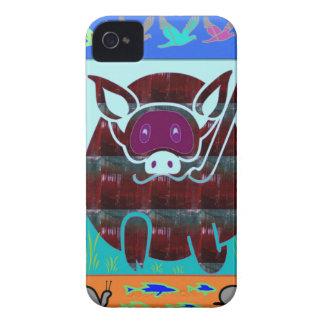 KIDS love Cartoon Animals iPhone 4 Case-Mate Case