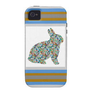 KIDS LOVE : Cute RABBIT as a Pet Case-Mate iPhone 4 Cases