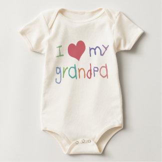 Kids Love Grandpa Organic Infant Creeper
