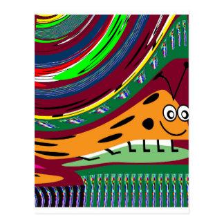 KIDS love Parrots, Secret LadyBug Waves Gateway fu Postcard