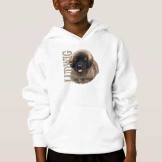 Kid's Ludwig the Leonberger Puppy Hoodie