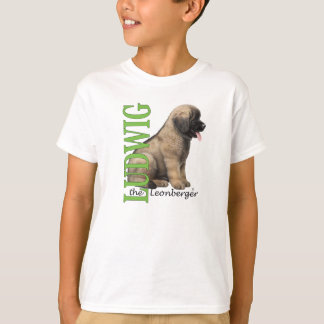 Kid's Ludwig the Leonberger Puppy T-Shirt