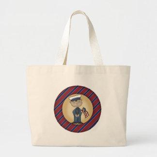 Kids Marine Tote Bag