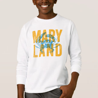 Kids Maryland Crab Tshirt