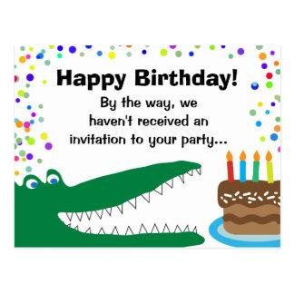 Kids Medical Dental Patient Birthday Greetings Postcard