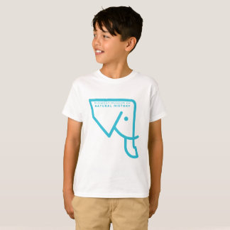 Kids' MMNH Blue Elephant T-Shirt