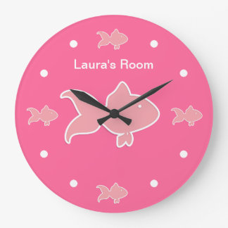 Kids Monogram Wall Clocks