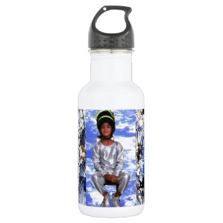 KIDS motivational graphics I want to be ASTRONAUT 532 Ml Water Bottle