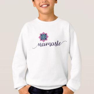 kids namaste sweatshirt