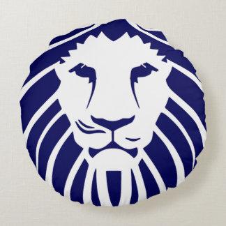 Kids Navy Blue Lion Pillow
