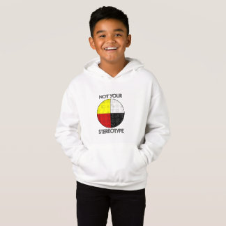 Kid's Not Your Stereotype Hoodie (Light)