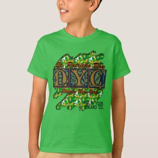 KIDS NY Camo Co Slainte St Pat's Camo Rub Out T T-Shirt