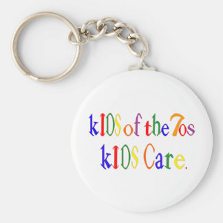 Kids of the 70's kIDS Care Key Ring