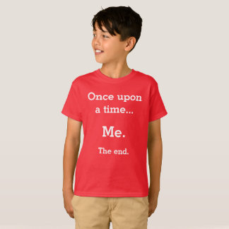 """Kids """"Once upon a time"""" t-shirt"""