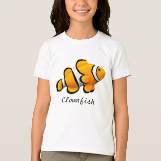 Kids Orange Percula Clownfish T-Shirt