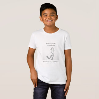 KIDS'  ORGANIC T-SHIRT - ANGER MANAGEMENT