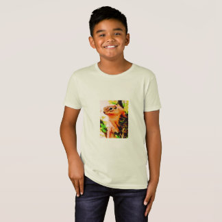 KIDS' ORGANIC T-SHIRT - CUTE SQUIRREL