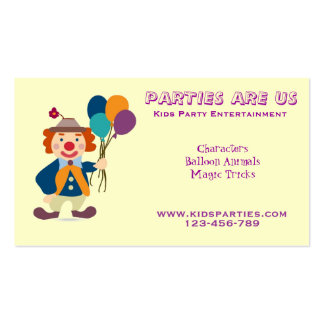 Kids party planning business