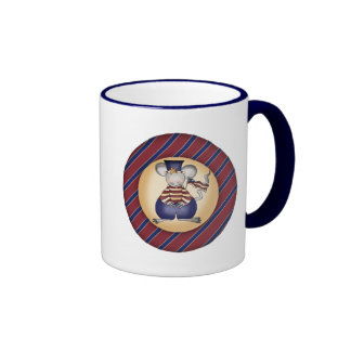 Kids Patriotic Mouse T Shirts and Gifts Coffee Mug