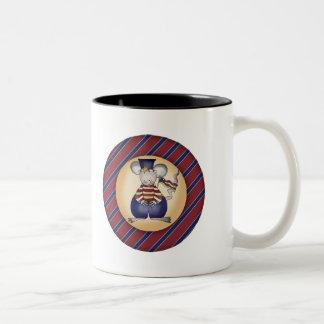 Kids Patriotic Mouse T Shirts and Gifts Mug