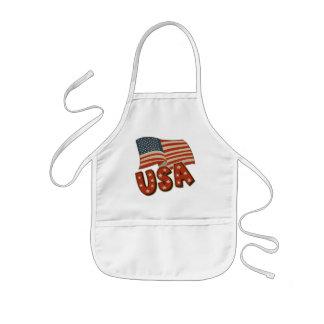 Kids Patriotic T Shirts and Kids Gifts Kids Apron
