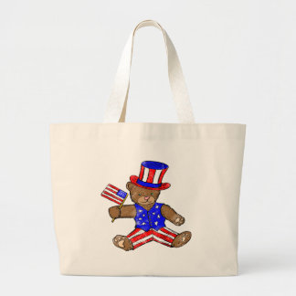 Kids Patriotic Tote Bag