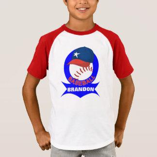 Kids Personalized Baseball T-Shirt
